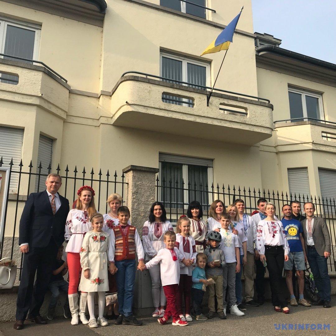Українці у Страсбурзі