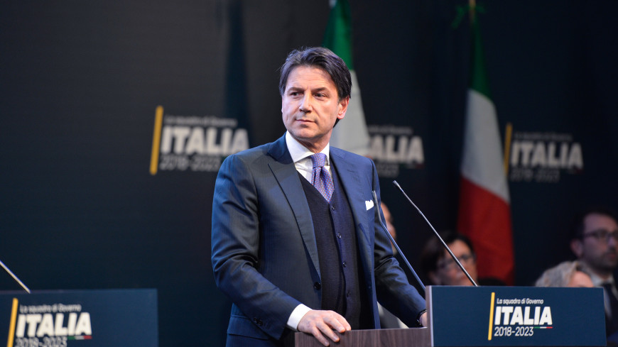 Новий прем'єр-міністр Італії Джузеппе Конте