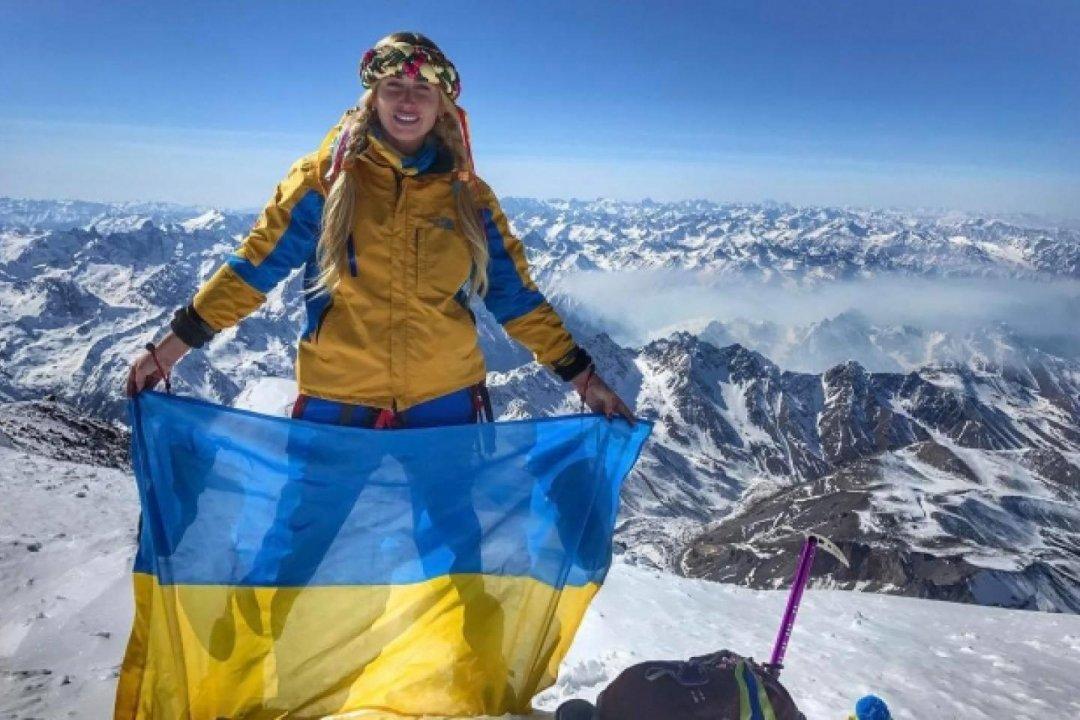 Перша українка, яка підкорила Еверест, Ірина Галай