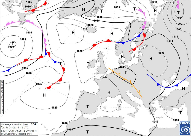 Прогноз погоди на 1 червня: літо в Україні розпочнеться з похолодання