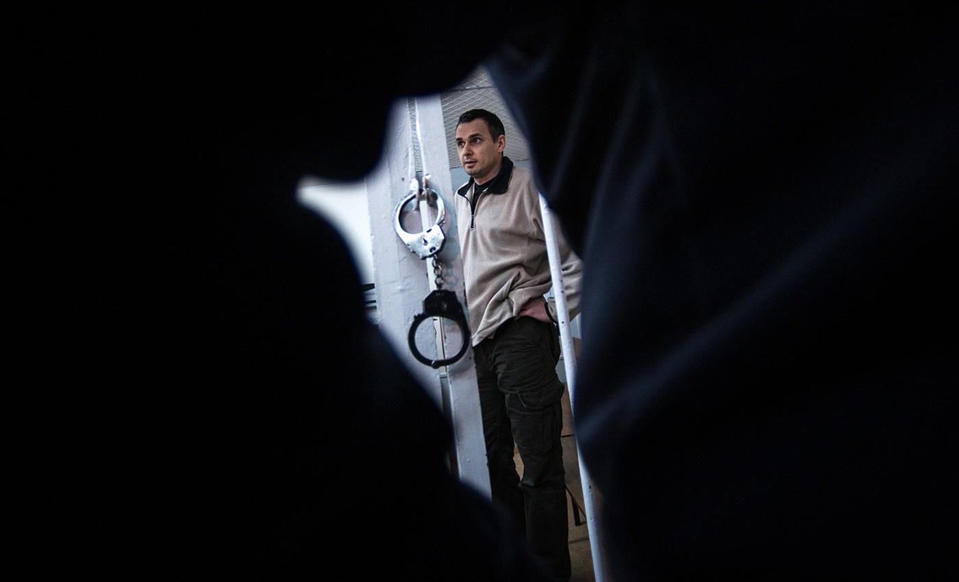 Політв'язень Олег Сенцов. Фото: MEDIAZONA