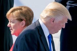 Трамп и Меркель обсудили торговлю, НАТО и Brexit