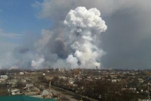 Взрывы в Балаклее: пострадавшие получили ожоги и множественные осколочные ранения
