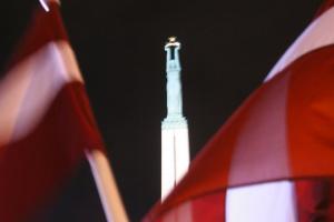 У столиці Латвії вшанували пам'ять жертв політичних репресій