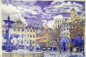 Súshchenko envía nuevos dibujos desde la colonia (Fotos)