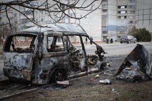 В Україні - День пам'яті загиблих під час обстрілу терористами Маріуполя