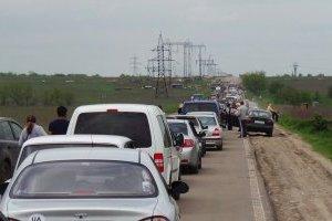 У пунктах пропуску на Донбасі очікують в чергах 330 авто