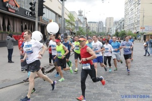 Rekord-Teilnehmerzahl bei 9th Nova Poshta Kyiv Half Marathon