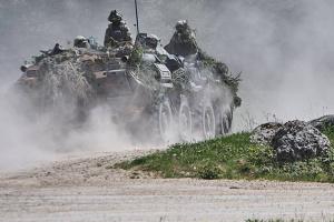 統一部隊作戦圏:3月25日のロシア占領軍攻撃7回、ウクライナ軍人負傷2名