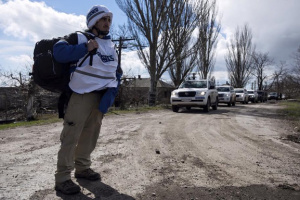 OSCE SMM records explosions in Donetsk city center