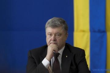 Porochenko: Nous ferons tout pour ramener Souchtchenko et tous les prisonniers politiques à la maison