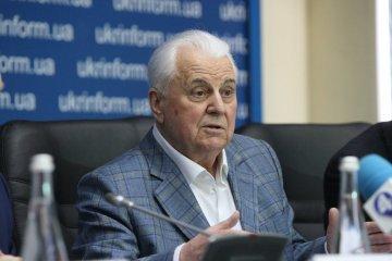 クラウチューク初代大統領、三者グループのウクライナ代表就任に同意