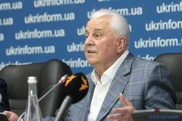 Zelensky appoints Kravchuk head of Ukrainian delegation to TCG