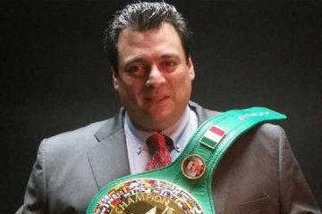 WBC-Präsident Mauricio Sulaiman besucht Kiew