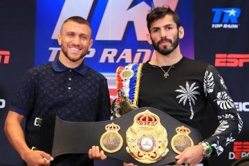 La pelea Lomachenko vs Linares reconocida como la mejor del año según la AMB