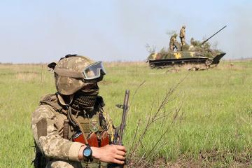Donbass : Les troupes ukrainiennes attaquées à 11 reprises, un militaire tué