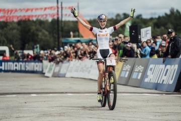 La ciclista ucraniana Belomoina gana la prestigiosa carrera en Chipre