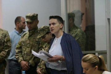 Savtchenko a écrit une lettre à Poutine