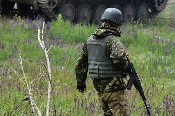 Donbass : Les formations armées illégales ont violé le cessez-le-feu à 12 reprises, un militaire ukrainien blessé