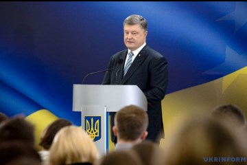Poroshenko: Issue of Ukrainian political prisoners in Russia discussed at meeting with G7, EU ambassadors