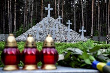 乌克兰各地举行政治镇压受害者纪念日活动