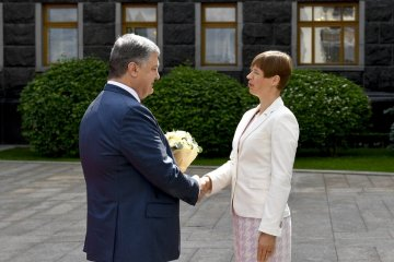 President Poroshenko meets with President of Estonia