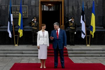 Poroshenko thanks Estonian president for supporting Ukraine in issue of deploying peacekeeping mission in occupied territories