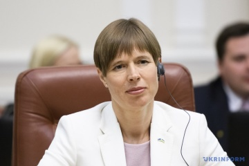 La Présidente de l'Estonie : La sécurité de l'Ukraine est aussi la nôtre