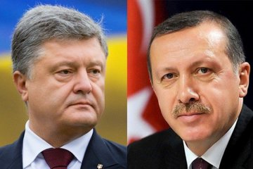 Poroshenko, Erdogan discuss topical issues of cooperation