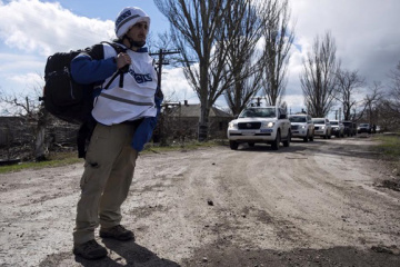 OSCE records over 20 Grad rocket launchers in occupied Donbas