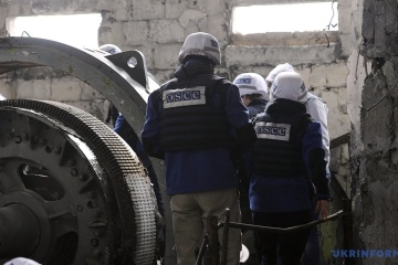 OSCE SMM records ceasefire violations in disengagement area in Donetsk region