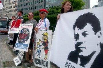 Les journalistes de l'Ukraine et du monde entier exigent la libération de Souchtchenko