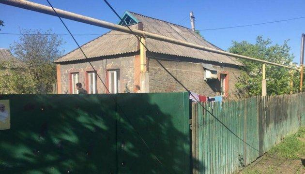Les milices ont tiré sur Maryinka: des maisons et un hôpital endommagés (photos)