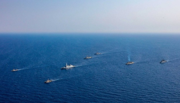 NATO warships enter Black Sea