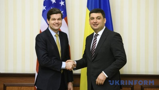 Ukrainian PM briefs U.S. Assistant Secretary of State on Ukraine's talks with IMF