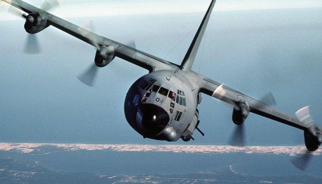У США розбився військово-транспортний літак Hercules