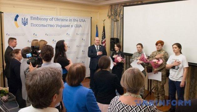 """""""Batallón invisible"""": En Washington hablaron sobre el papel de las mujeres en el conflicto del Donbás (Foto)"""