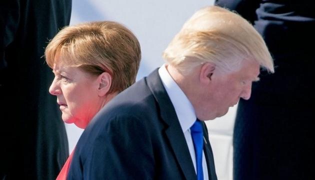Трамп і Меркель обговорили торгівлю, НАТО та Brexit