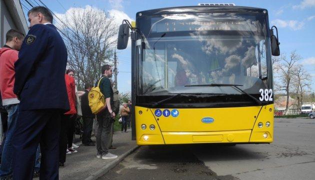 У Києві у ніч проти 16 квітня змінять рух нічні тролейбуси маршруту №91Н