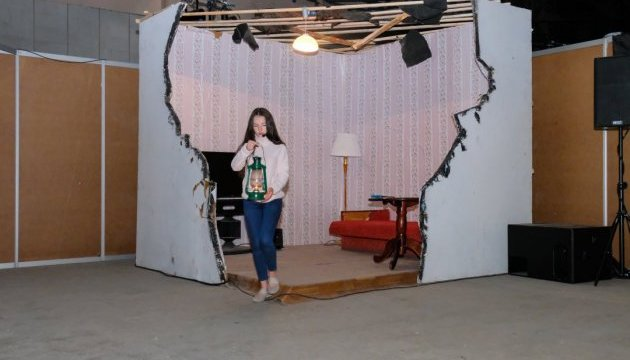 Дитячий театр показав у Дніпрі унікальну виставу про Донбас