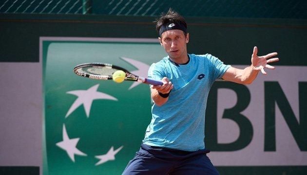 Стаховский вышел в четвертьфинал теннисного турнира в Сербитоне