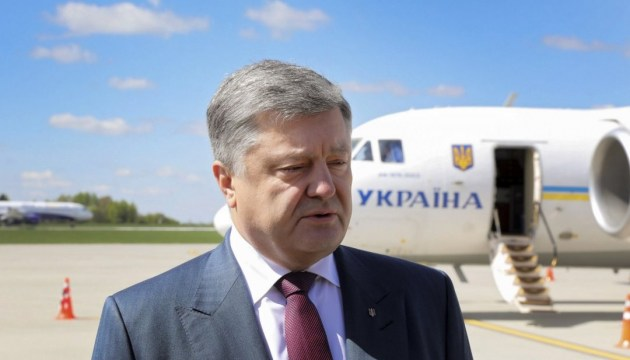 Poroshenko goes on an official visit to Spain today