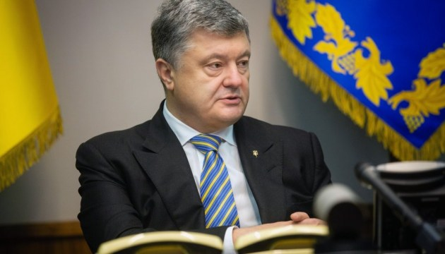 There is hot war in Donbas, Poroshenko reminds