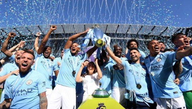 АПЛ: «Манчестер Сіті» вручили чемпіонський кубок та золоті медалі