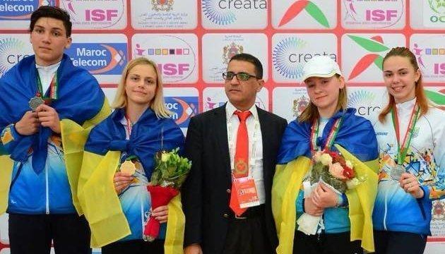 2018世界中学生夏运会首日,乌克兰斩获5枚奖牌