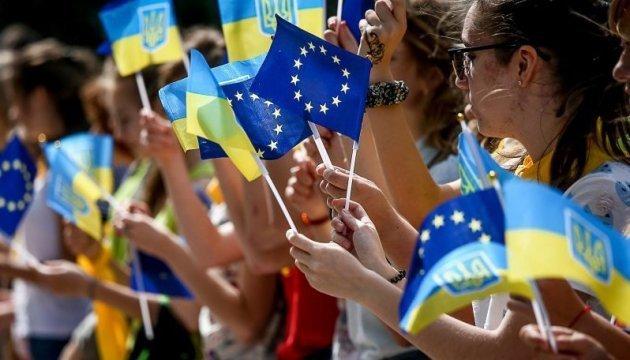 Encuesta: Alrededor del 46% de los ucranianos apoyan la adhesión de Ucrania a la UE
