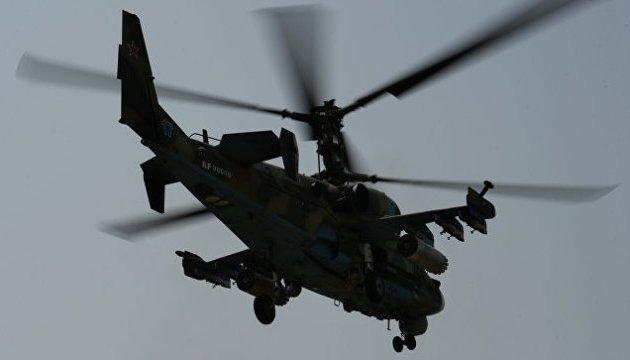 В Сирии упал российский военный вертолет