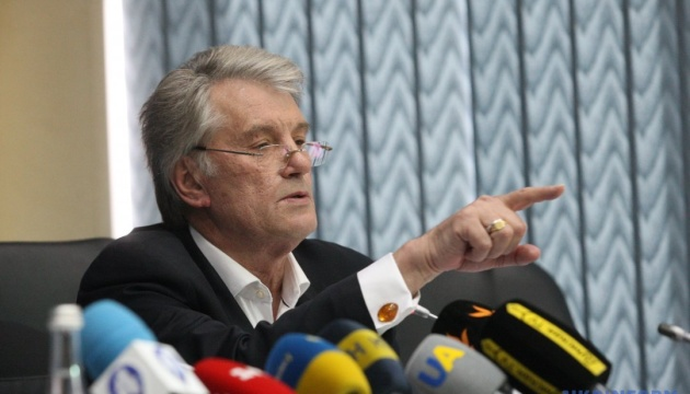 Ющенко - про автокефалію:  Це стосується 45 мільйонів людей