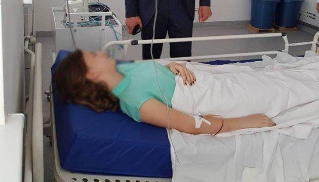 Vergiftung von Kindern: Hrojsman fliegt nach Tscherkassy