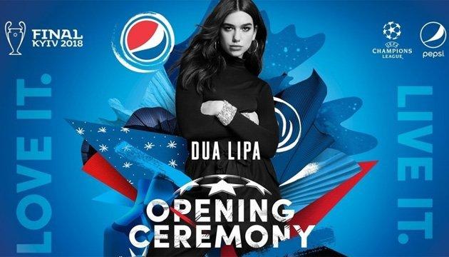 Dua Lipa se presentará en la ceremonia de apertura de la final de la UEFA Champions League